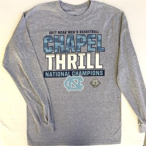 UNC Chapel Hill 2017 Men's Basketball Champions